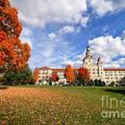La Roche College On A Fall Day Poster