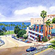 La Valencia And Prospect Park Inn Lj Poster