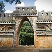 Labna Maya Arch Poster