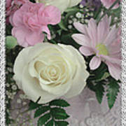 Lace Framed Mothers Day Poster