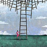 Ladder Cluster Poster
