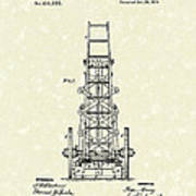 Ladders 1874 Patent Art Poster