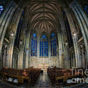 Lady Chapel At St Patrick's Catheral Poster