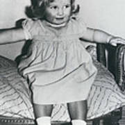 Lady Diana A Chubby Two-year Old Poster