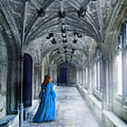 Lady In A Corridor Poster