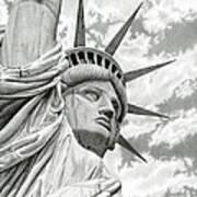 Lady Liberty  Poster by Sarah Batalka