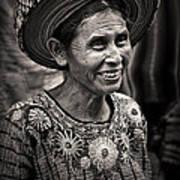 Lady Of Santiago Atitlan Poster
