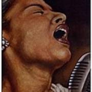 Lady Sings Poster