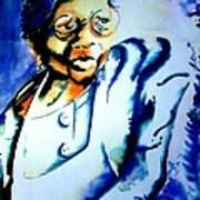 Lady With A Cane Poster