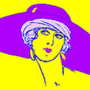 Lady With Hat 1c Poster