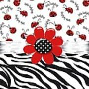 Ladybug Wild Thing Poster