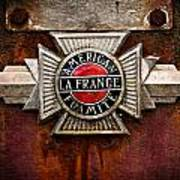 Lafrance Badge Poster