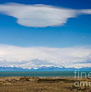 Lago Argentino In Patagonia  Poster