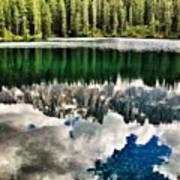 Lago Di #carezza #dolomiti #altoadige Poster