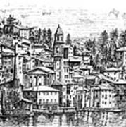 Lago Di Como-brienno Poster
