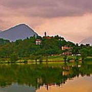 Lago Di Muzzano Mystique Poster