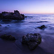 Laguna Beach Sunset In Ca Poster