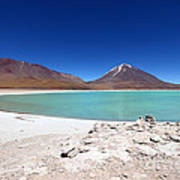 Laguna Verde Bolivia Poster