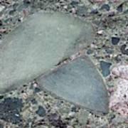 Lahar Deposit Rock Sample Poster