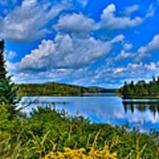 Lake Abanakee - Indian Lake New York Poster