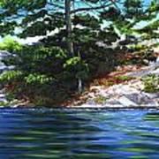 Lake Agnew Poster