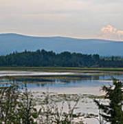 Lake Along Klondike Highway-yt Poster