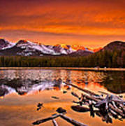 Lake Bierstadt In The Morn Poster