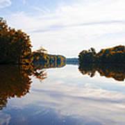Lake Carnegie Princeton Poster