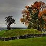 Lake Champlain Crown Point Panorama Poster