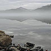 Lake Chatuge Mirror Image Poster