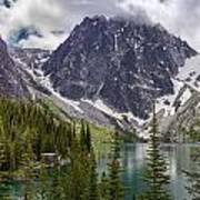 Lake Colchuck Gateway To The Enchantments Poster