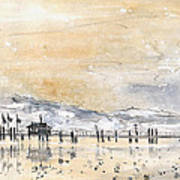 Lake Constance In Winter Poster