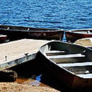 Lake Dock Poster