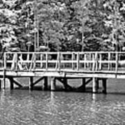 Lake Greenwood Pier Poster