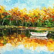Lake Impression Poster