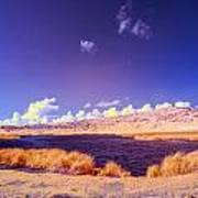 Lake In Rano Raraku Crater Poster