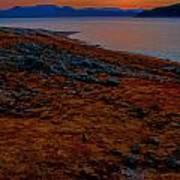 Lake Jocassee Sunrise Poster