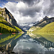 Lake Louise Banff National Park Poster