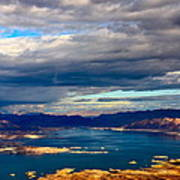 Lake Mead Thunderstorm Poster