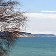 Lake Michigan Bluffs Poster