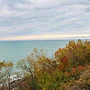Lake Michigan Fall Poster