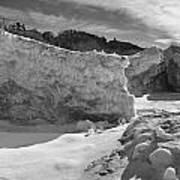 Lake Michigan Ice II Poster