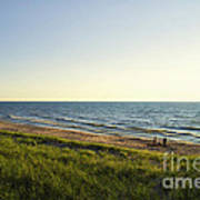 Lake Michigan Shoreline 01 Poster