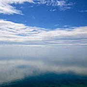 Lake Michigan's Lost Horizon Poster