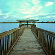 Lake Monger Western Australia Poster