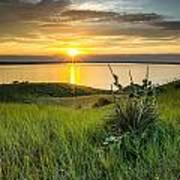 Lake Oahe Sunset Poster