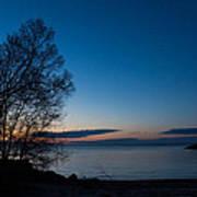 Lake Ontario Blue Hour Poster