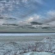 Lake Ontario Snow Poster