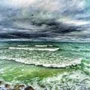 Lake Ontario Waves Poster