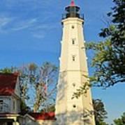 Lake Park Light House 2 Poster